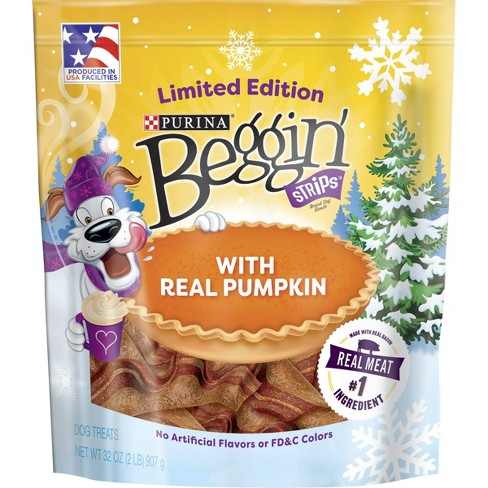 Nestle Purina Beggin' Pumpkin Spice Dog Treats - 32oz - image 1 of 4