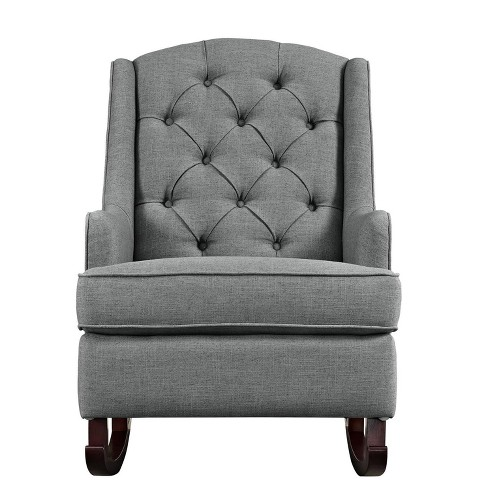 Zoe Tufted Rocking Chair - image 1 of 6