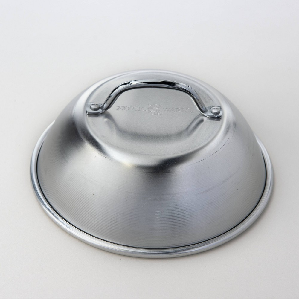 Image of Stainless Steel Cheese Melting Grill Dome Silver - Nordicware