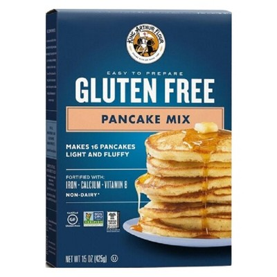 Baking Mixes: King Arthur Gluten Free Pancake Mix