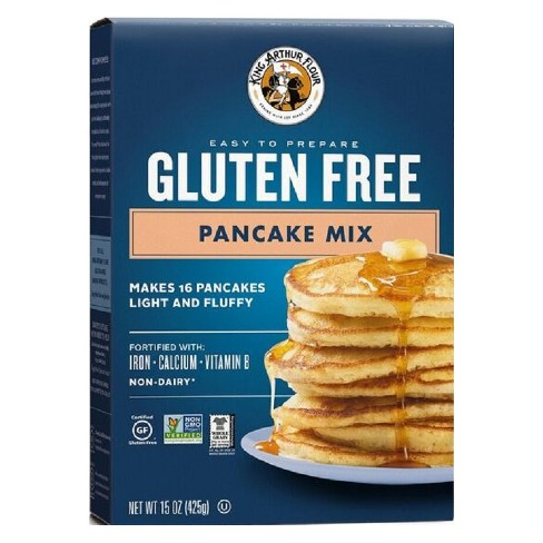 King Arthur Flour Gluten Free Pancake Mix - 15oz - image 1 of 4