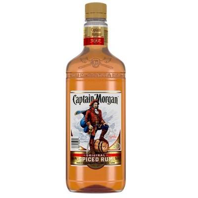 Captain Morgan Original Spiced Rum - 750ml Plastic Bottle
