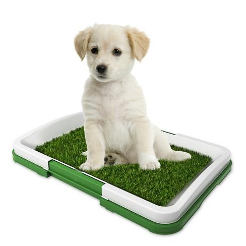 Pet Pal Puppy Artificial Grass Potty Trainer Mat - image 1 of 4