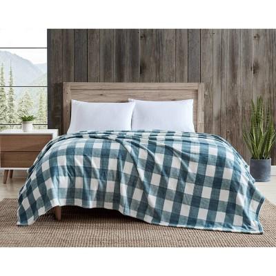 Ultra Soft Plush Bed Blanket - Eddie Bauer