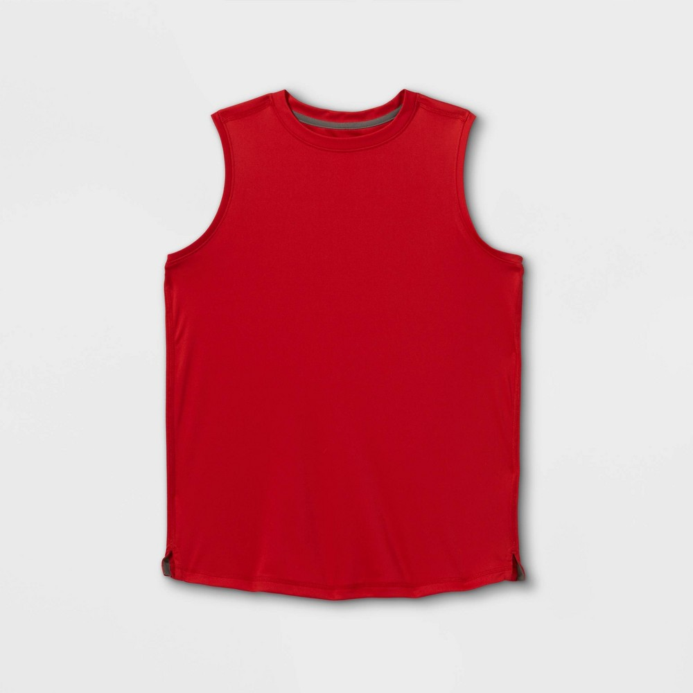 Boys 39 Sleeveless Tech T Shirt All In Motion 8482 Red S