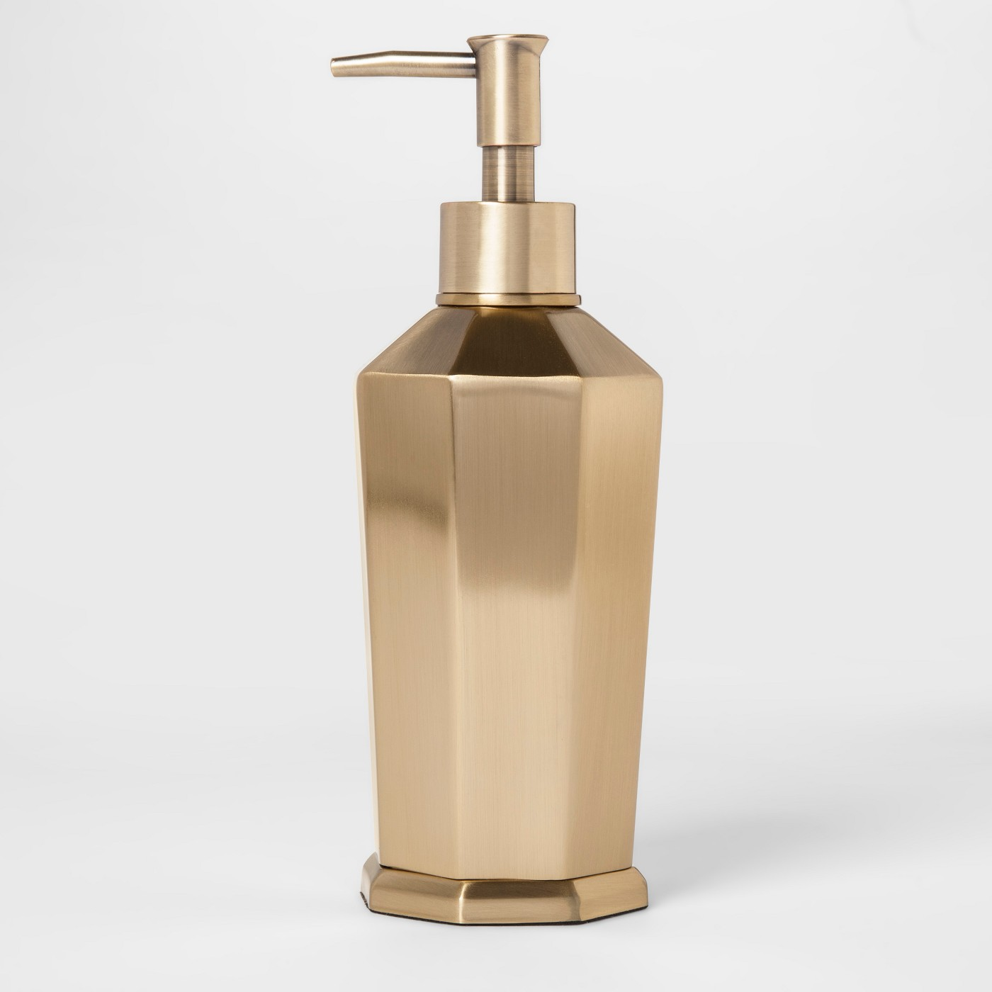 Solid Soap Pump Faceted Gold - Threshold™ - image 1 of 1