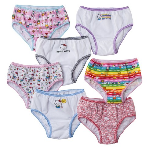 3c721a5fc04bc Girls  Hello Kitty 7pk Panty Set - Assorted   Target