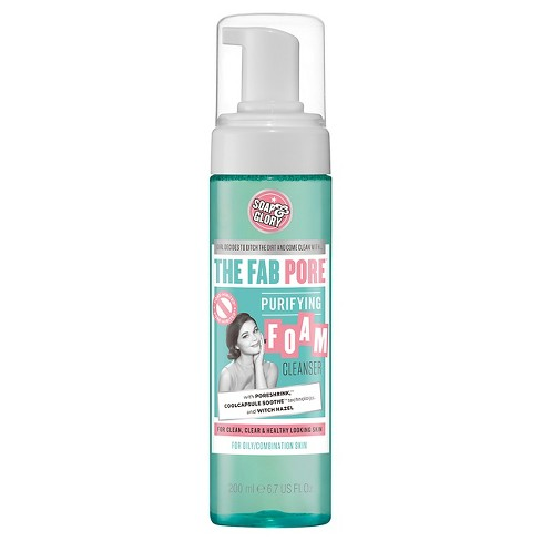 Soap & Glory The Fab Pore Purifying Foam Cleanser - 6.7oz - image 1 of 1