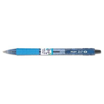 Pilot B2P Bottle-2-Pen Recycled Retractable Ball Point Pen Blue Ink 1mm Dozen 32801
