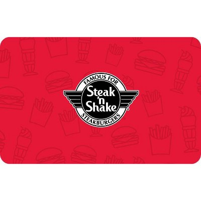 Steak 'N Shake $25 (Email Delivery)
