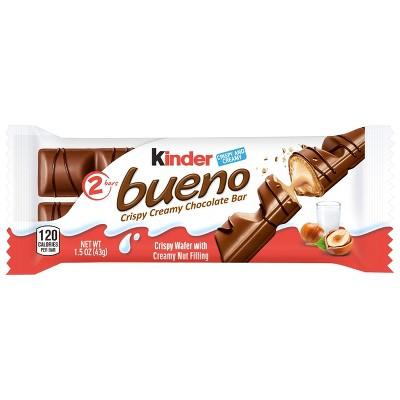 Kinder Bueno Hazelnut Chocolate Candy - 1.5oz