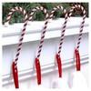 Haute Decor 4ct Candy Cane Christmas Stocking Holders - image 2 of 2