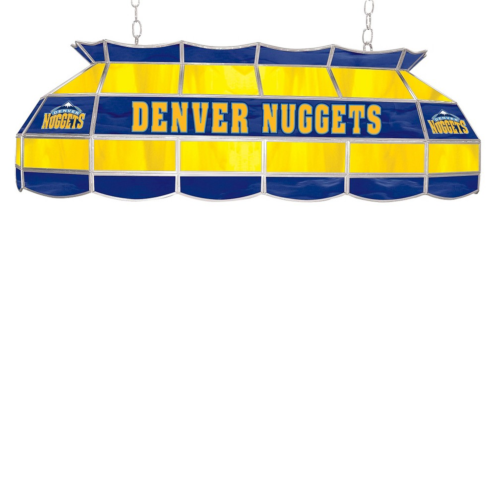 Denver Nuggets Tiffany Style Lamp - 40 inch