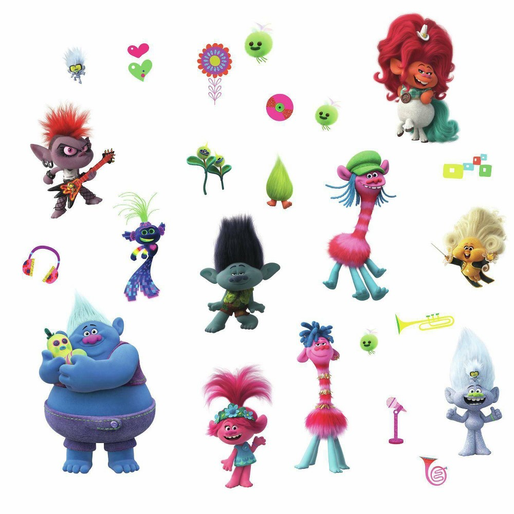 Trolls World Tour Peel And Stick Wall Decal
