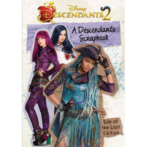 A Descendants Scrapbook: The Isle of the Lost Edition - by  Matt Sinclair (Hardcover) - image 1 of 1