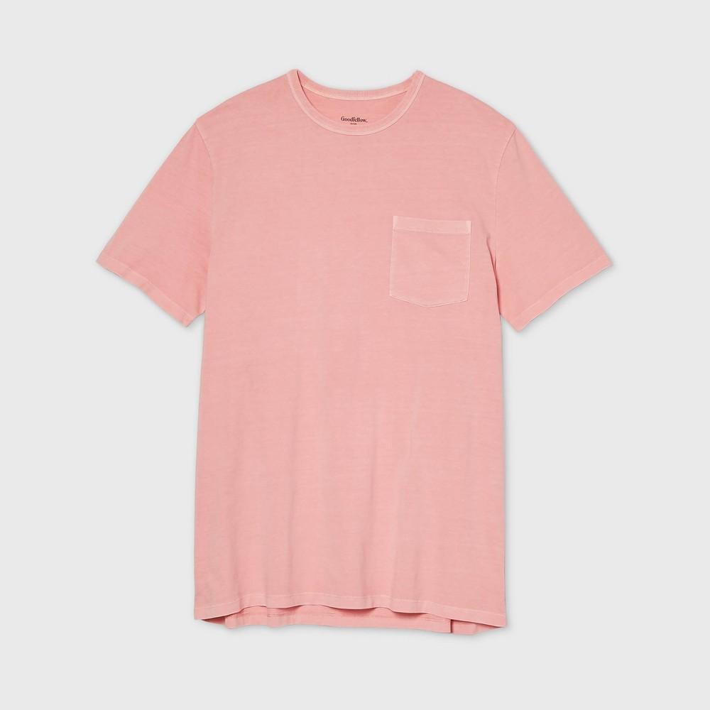 Best Men's Tall Standard Fit Pigment Dye Short Sleeve Crew Neck T-Shirt - Goodfellow & Co™