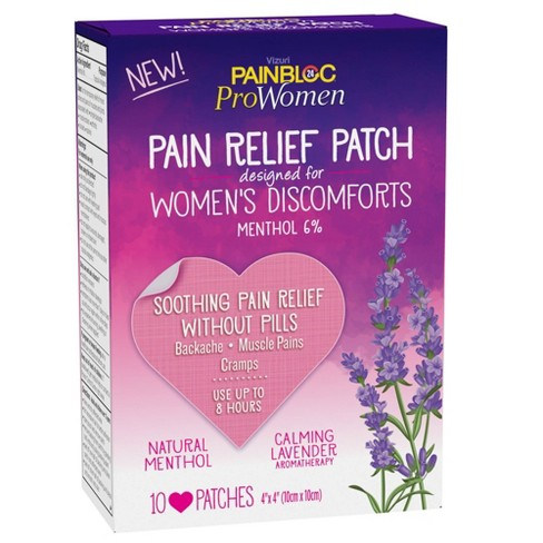 PainBloc24 Women's Pain Relief Patch for Discomfort - 10ct - image 1 of 4