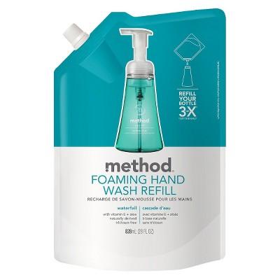 Method Foaming Hand Soap Refill Waterfall - 28oz
