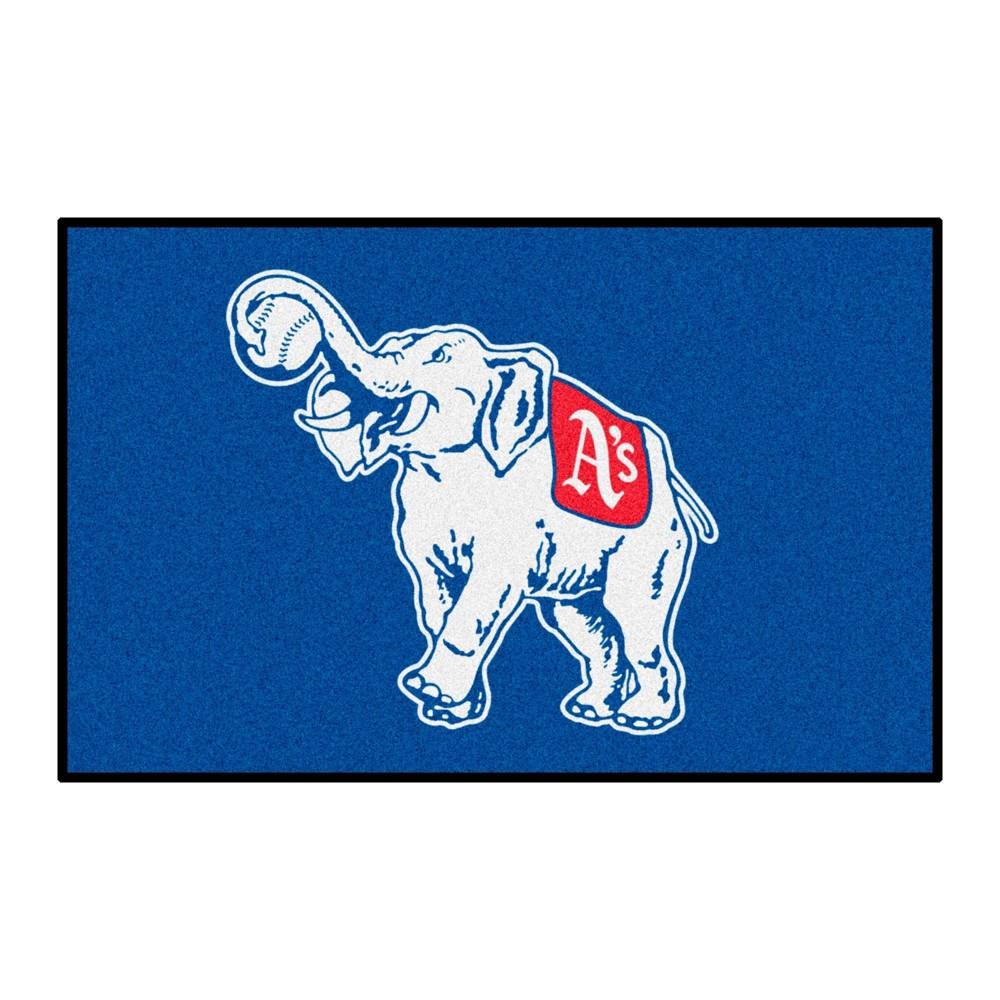 Mlb Oakland Athletics 1954 19 34 X30 34 Retro Accent Rug