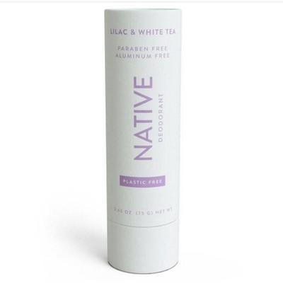 Native Plastic Free Lilac & White Tea Deodorant for Women - 2.65oz