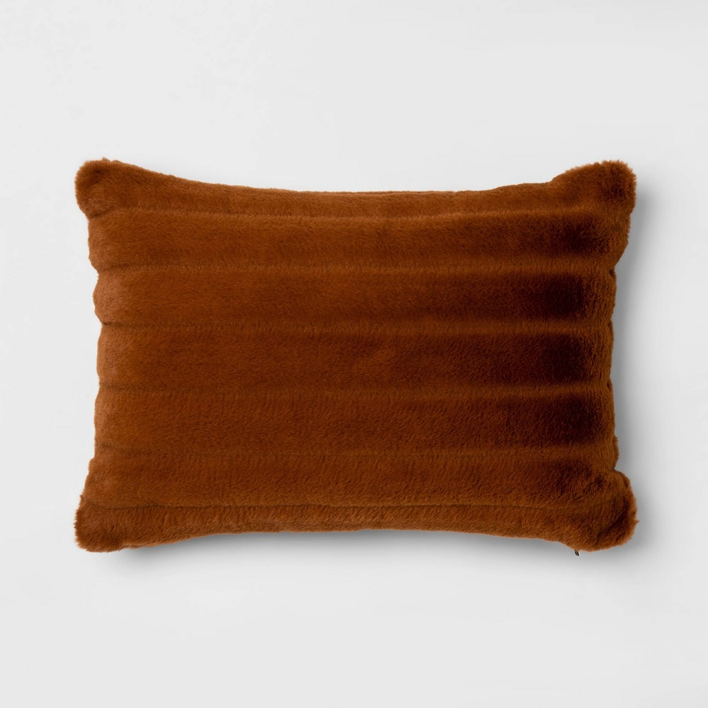 Faux Fur Throw Pillow   Best Target