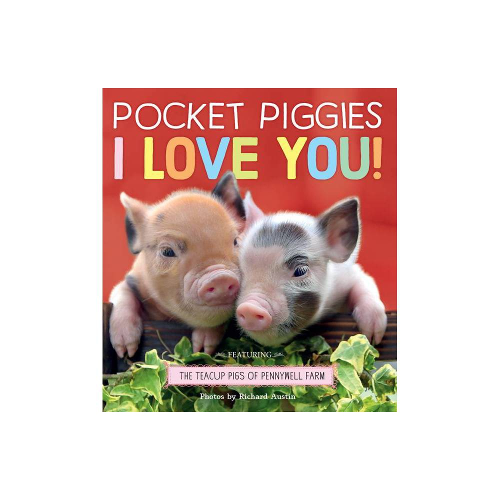 Pocket Piggies I Love You By Richard Austin Board Book