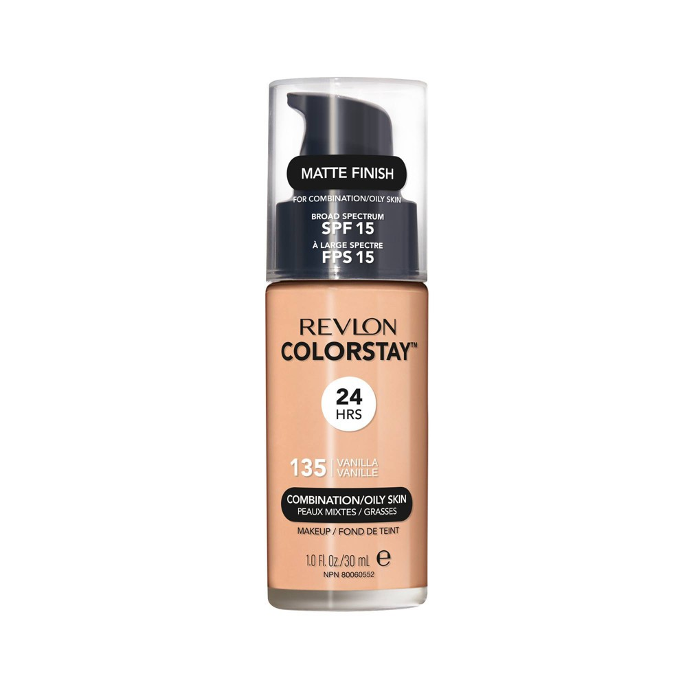 Revlon ColorStay Liquid Makeup Combination/Oily 135 Vanilla - 1.0 fl oz
