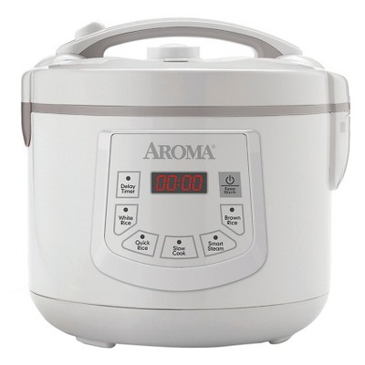 Aroma 12 Cup Digital Rice Cooker and Food Steamer