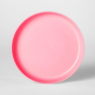 7.3  Plastic Kids Plate Pink - Pillowfort™