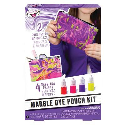 Marble Dye Pouch Kit - Fashion Angels
