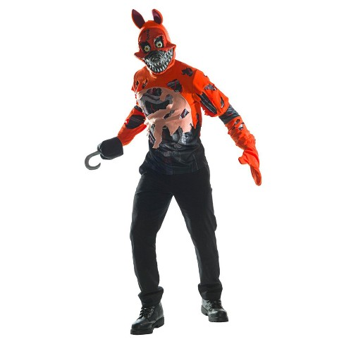 Mens Five Nights At Freddys Nightmare Foxy Adult Costume Target