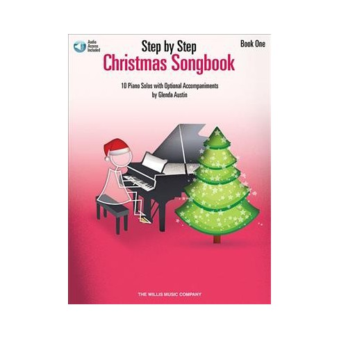 Christmas Music Downloadable.Step By Step Christmas Songbook 10 Piano Solos With Optional Accompaniments Includes Downloadable