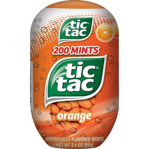 Tic Tac Fresh Breath Mint Candies, Orange Bottle Pack - 3.4 oz - image 1 of 4