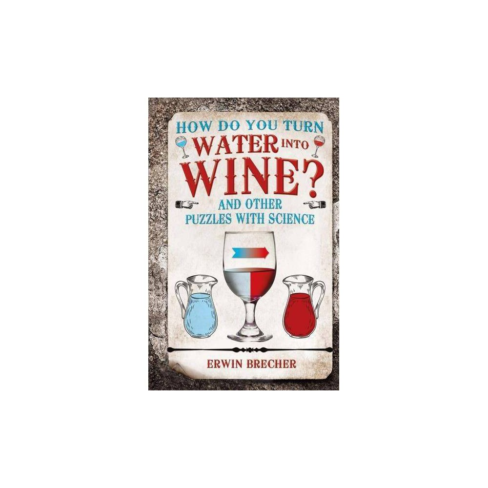 How Do You Turn Water into Wine? : And Other Puzzles With Science - by Erwin Brecher (Hardcover)