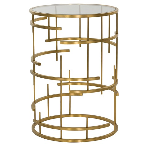 End Table Gold - Safavieh - image 1 of 2