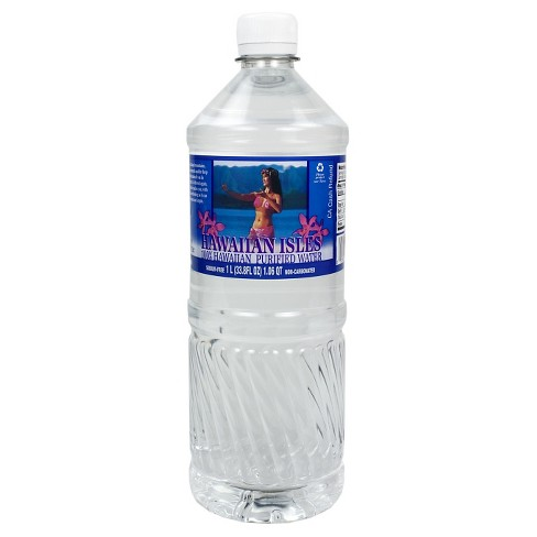 Hawaiian Isles Purified Water - 1 L Bottle - image 1 of 1
