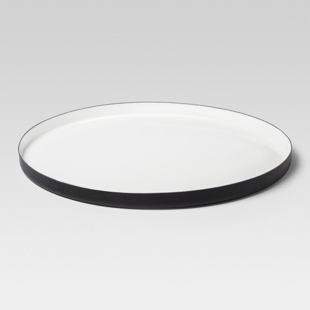 Enamel Tray Extra Large - White/Black - Project 62