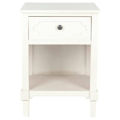 Brenna Side Table White - Safavieh