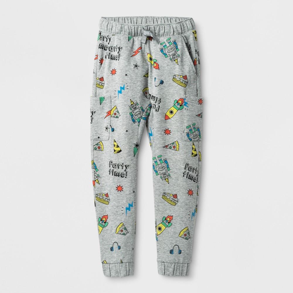 Boys' Jogger Pants - Cat & Jack Gray S