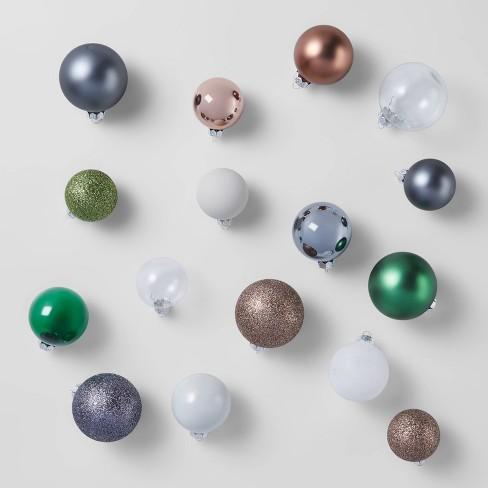 42ct Round Glass Ornaments Veranda - Wondershop™ - image 1 of 3
