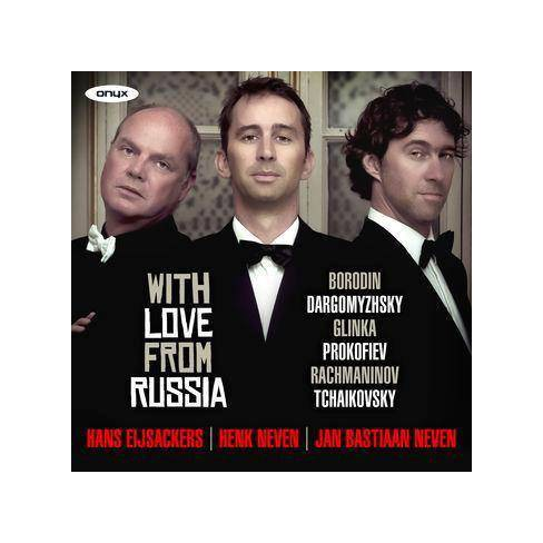 Henk Neven - With Love From Russia (CD) - image 1 of 1