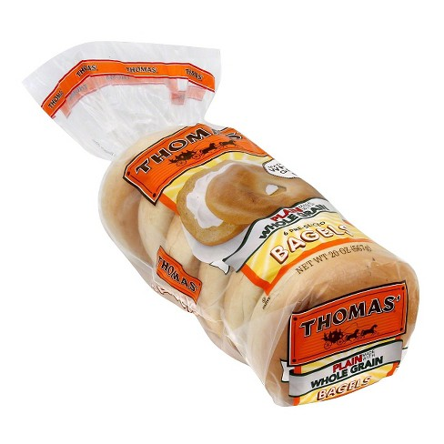 Thomas Whole Grain Bagels 6 ct - image 1 of 1