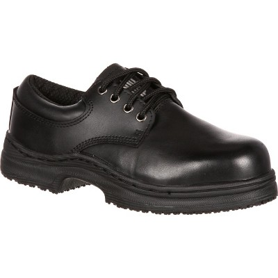 Men's SlipGrips Steel Toe Slip-Resistant Oxford