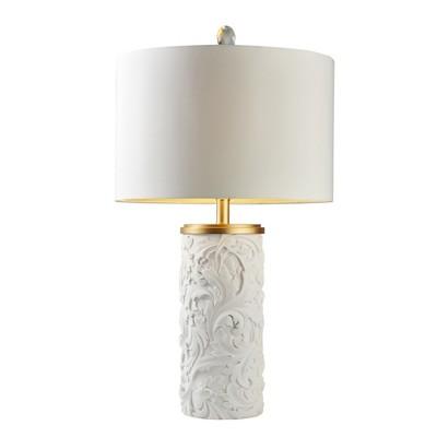"OK Lighting 31.25""H Alba Flora Table Lamp"