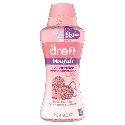Dreft Blissfuls Baby Fresh Scent In-Wash Scent Booster Beads - 26.5oz
