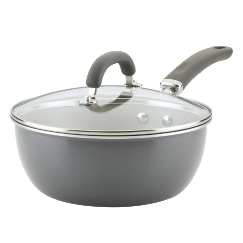 Rachael Ray Create Delicious 3qt Everyday Pan Gray Shimmer - image 1 of 4