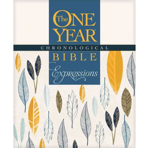 One Year Chronological Bible : New Living Translation, Expressions (Paperback) - image 1 of 1