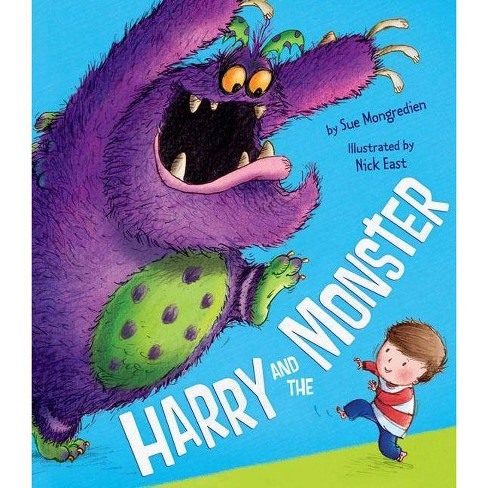 Harry and the Monster - by  Sue Mongredien (Hardcover) - image 1 of 1