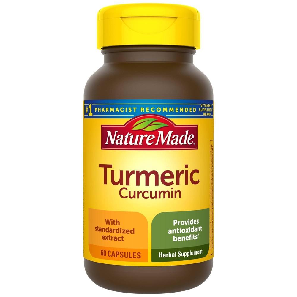 Nature Made Turmeric 500 Mg Capsules 60ct