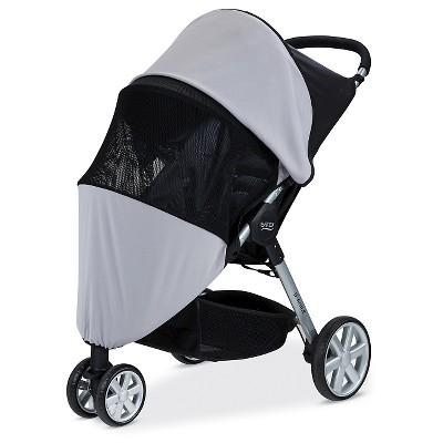 Britax® Sun & Bug Stroller Cover - Gray
